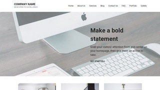 Mins Electronic Store WordPress Theme