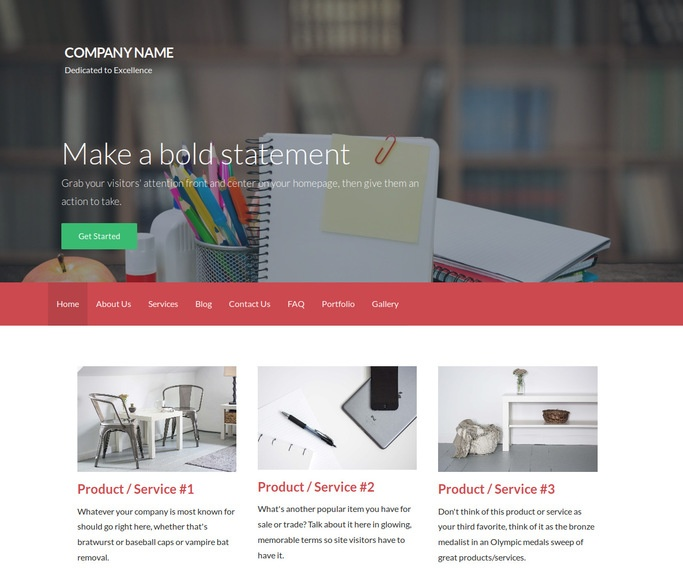Activation Elementary School WordPress Theme