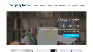 Ascension Elementary School WordPress Theme
