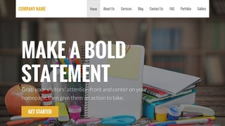 Stout Elementary School WordPress Theme