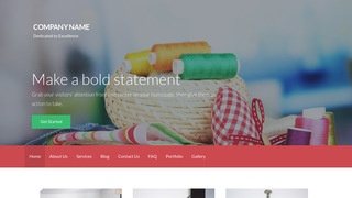 Activation Embroidery WordPress Theme