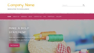 Scribbles Embroidery WordPress Theme