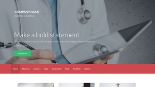 Activation Emergency Care Physician WordPress Theme