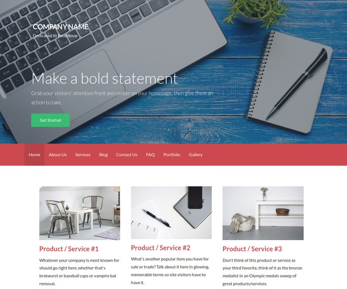 Activation Environmental Consultant WordPress Theme