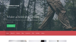 Activation Environmental Program WordPress Theme