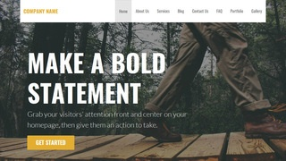 Stout Environmental Program WordPress Theme