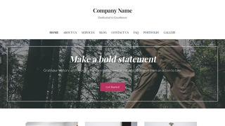 Uptown Style Environmental Program WordPress Theme