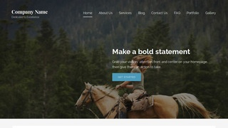 Lyrical Equestrian WordPress Theme