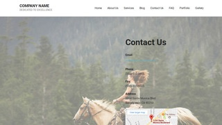 Mins Equestrian WordPress Theme