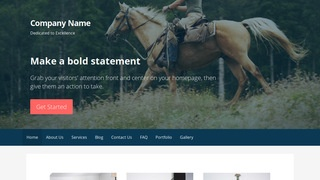 Primer Equestrian WordPress Theme