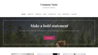 Uptown Style Equestrian WordPress Theme