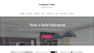 Uptown Style Estate Appraiser WordPress Theme