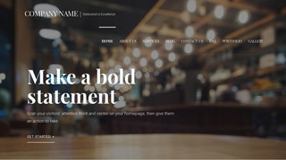 Velux European Restaurant WordPress Theme