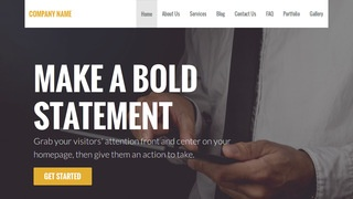Stout Executive Search Consultant WordPress Theme