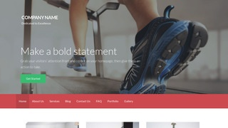 Activation Exercise Equipment Store WordPress Theme