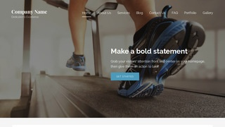 Lyrical Exercise Equipment Store WordPress Theme