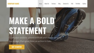 Stout Exercise Equipment Store WordPress Theme