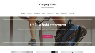 Uptown Style Exercise Equipment Store WordPress Theme
