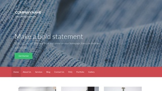 Activation Fabric Stores WordPress Theme