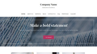 Uptown Style Fabric Stores WordPress Theme