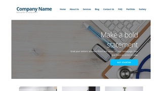 Ascension Family Practice Physician WordPress Theme
