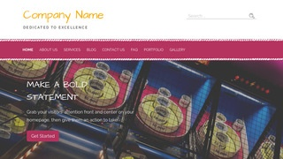 Scribbles Family Entertainment Centers WordPress Theme