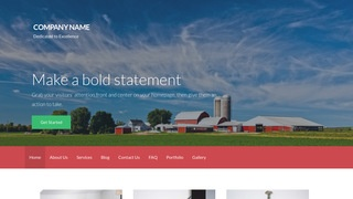 Activation Farm Bureau WordPress Theme