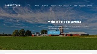 Lyrical Farm Bureau WordPress Theme