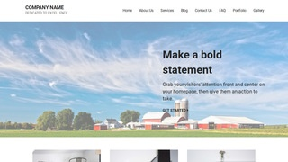 Mins Farm Bureau WordPress Theme