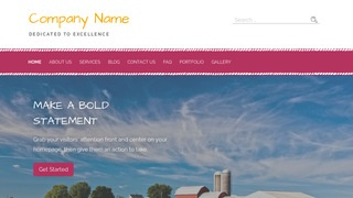 Scribbles Farm Bureau WordPress Theme