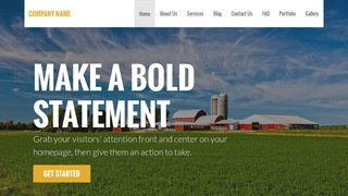Stout Farm Bureau WordPress Theme