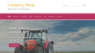 Scribbles Farm Equipment and Supplies WordPress Theme