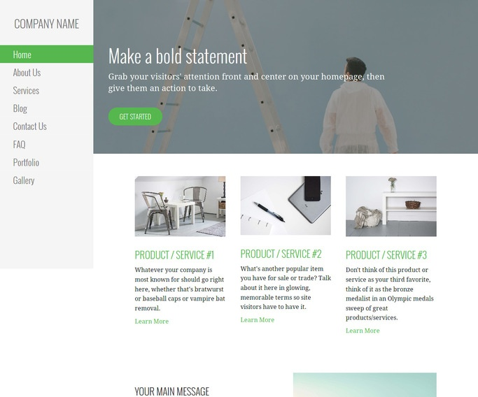 Escapade Faux Painting Services WordPress Theme