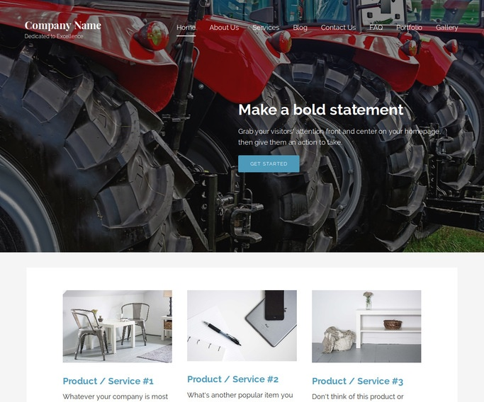 Lyrical Feed Store WordPress Theme