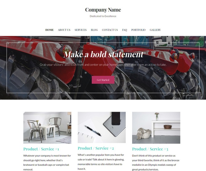 Uptown Style Feed Store WordPress Theme