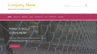 Scribbles Fence Supplies WordPress Theme