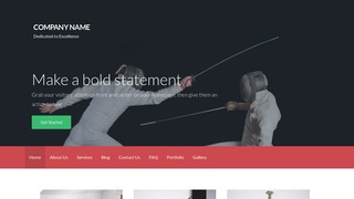 Activation Fencing WordPress Theme