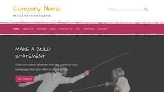 Scribbles Fencing WordPress Theme