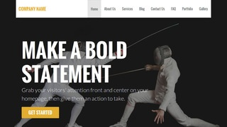 Stout Fencing WordPress Theme