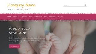 Scribbles Fertility Clinic WordPress Theme