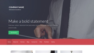 Activation Financial Consultant WordPress Theme