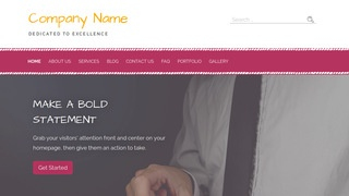 Scribbles Financial Consultant WordPress Theme
