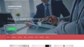 Activation Financial and Investment Planning WordPress Theme