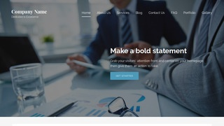 Lyrical Financial and Investment Planning WordPress Theme