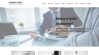 Mins Financial and Investment Planning WordPress Theme