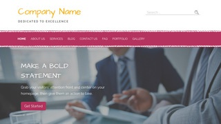 Scribbles Financial and Investment Planning WordPress Theme