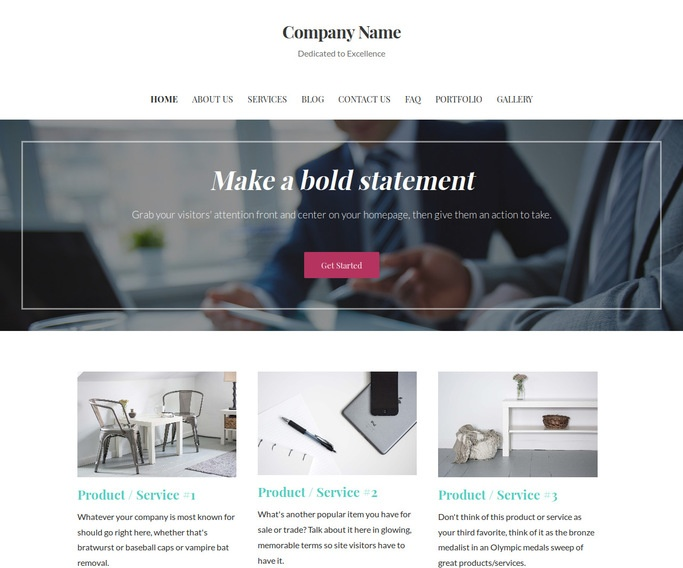 Uptown Style Financial and Investment Planning WordPress Theme
