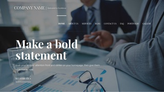 Velux Financial and Investment Planning WordPress Theme