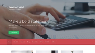Activation Financial Service WordPress Theme