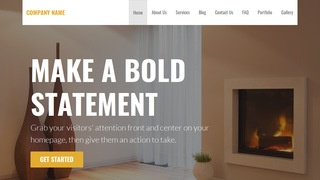 Stout Fireplaces WordPress Theme
